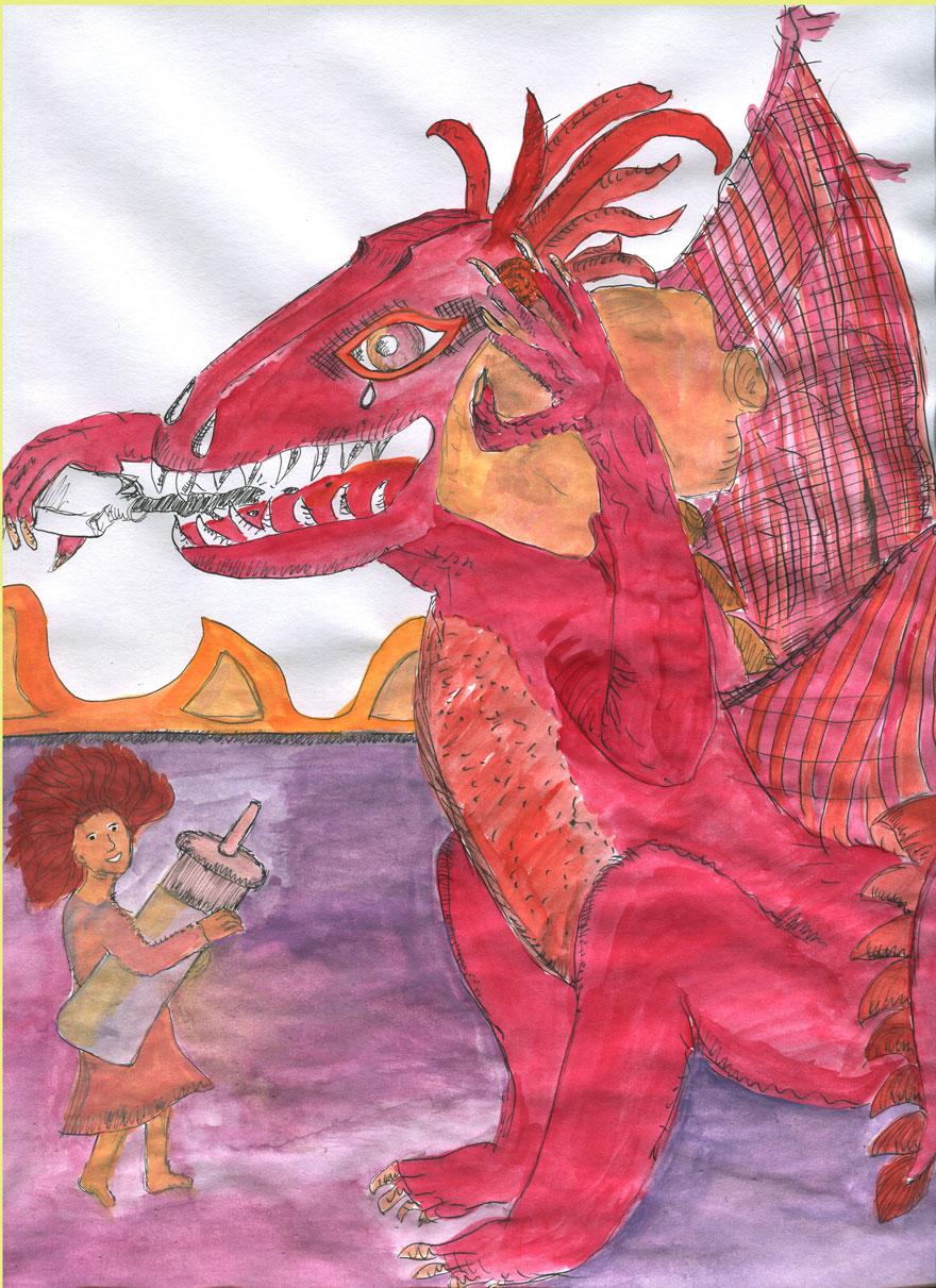 drachehatohrenschmerzen